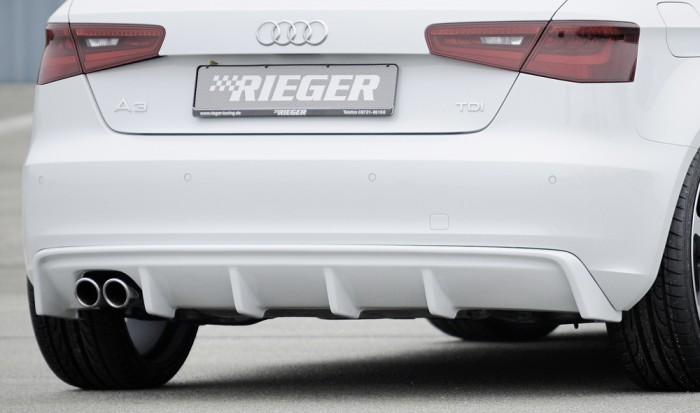 Rieger Heckeinsatz für Audi A3 (8V) - 7443