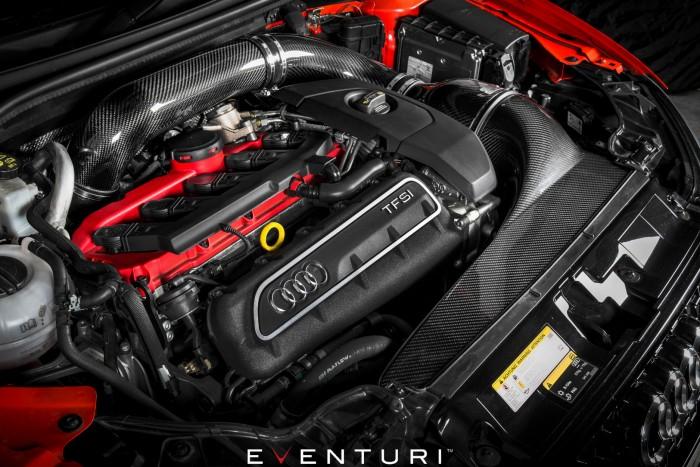 Eventuri Carbon Ansaugsystem für Audi 8V RS3 - Facelift