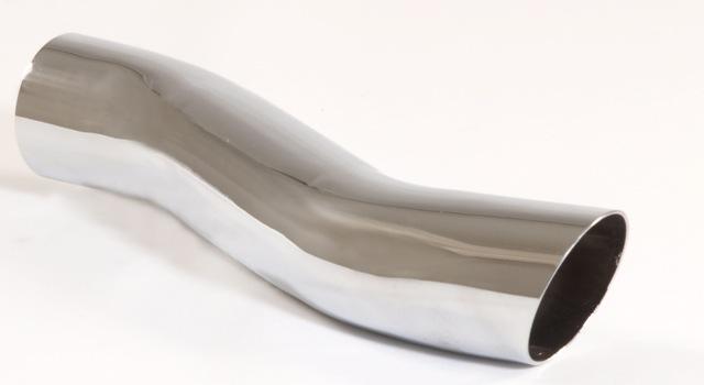 endrohr 60mm rund scharfkantig s form edelstahl endrohre friedrich motorsport shop. Black Bedroom Furniture Sets. Home Design Ideas