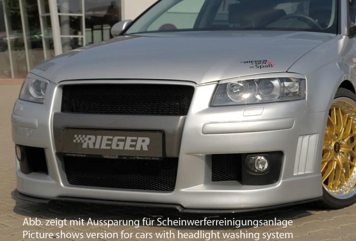 Rieger Spoilerstoßstange für Audi A3 (8P) - 7507