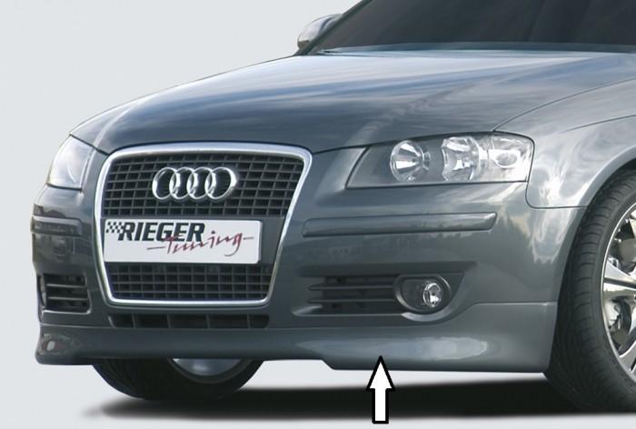 Rieger Spoilerlippe für Audi A3 (8P) - 7503