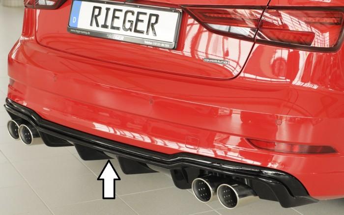Rieger Heckeinsatz für Audi A3 (8V) - 5879
