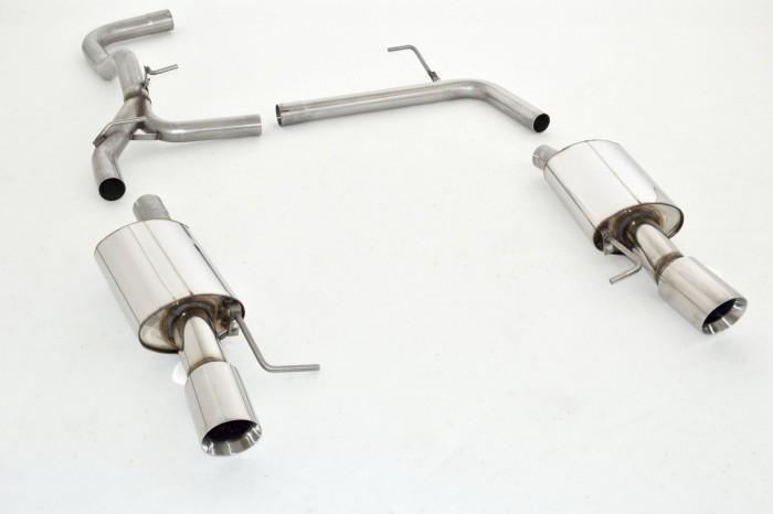 duplex-sportendschalldämpfer skoda octavia 5e | 1.6l tdi 66/77/81kw