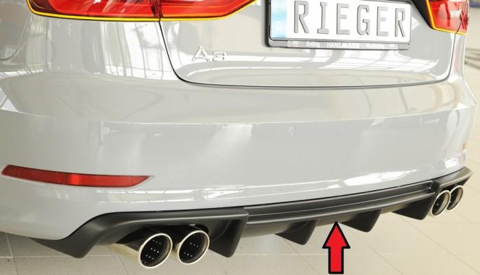 Rieger Heckeinsatz für Audi A3 (8V) - 7373