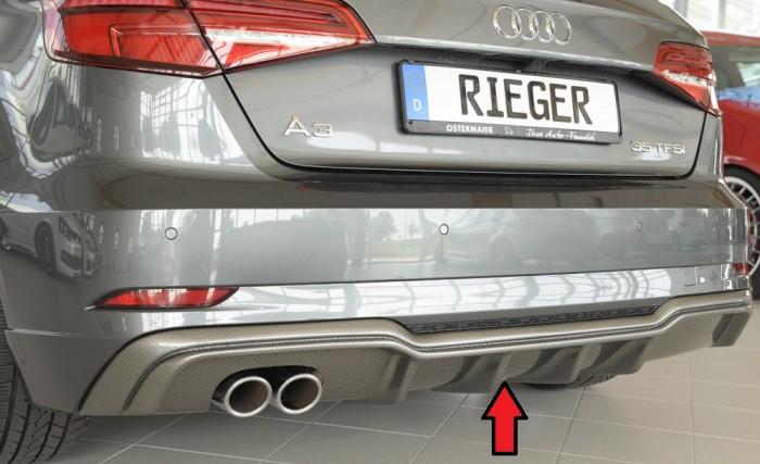 Rieger Heckeinsatz für Audi A3 (8V) - 4748