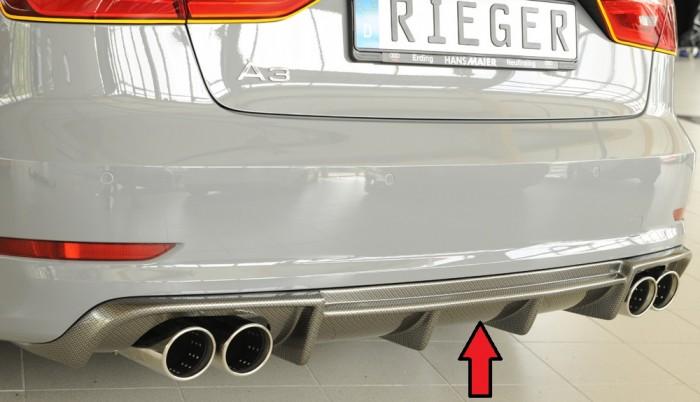 Rieger Heckeinsatz für Audi A3 (8V) - 4929
