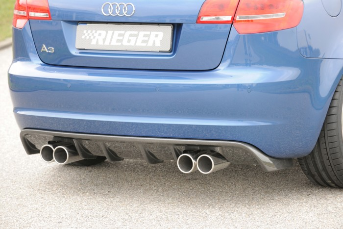 Rieger Heckeinsatz für Audi A3 (8P) - 4424