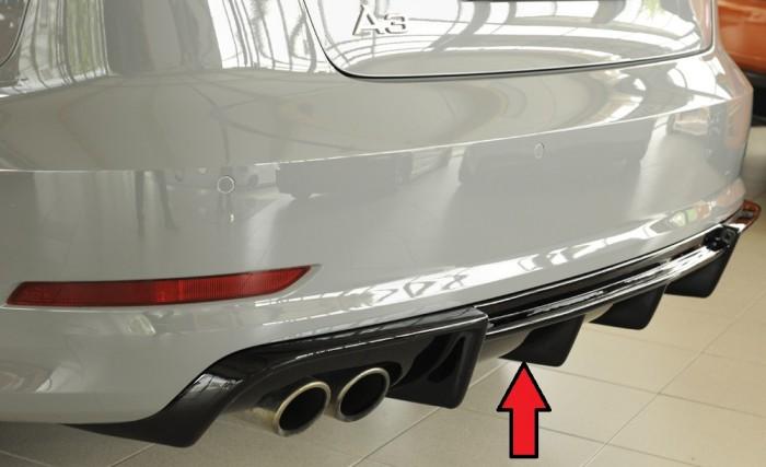 Rieger Heckeinsatz für Audi A3 (8V) - 5945