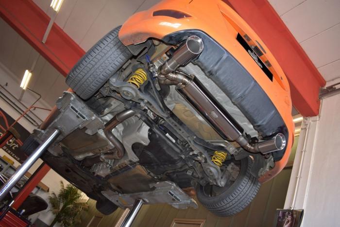 76mm Duplex-Anlage mit Klappensteuerung für Ford Focus MK2 (DA3) ST