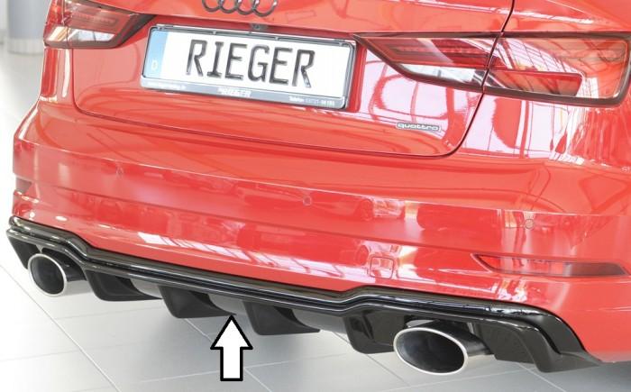 Rieger Heckeinsatz für Audi A3 (8V) - 5875