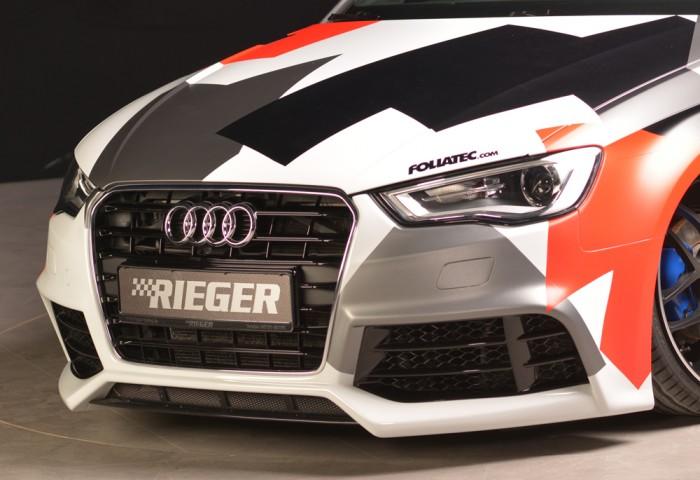 Rieger Spoilerstoßstange für Audi A3 (8V) - 7437
