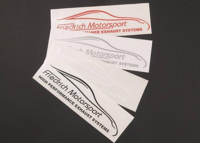 Aufkleber klein Friedrich Motorsport