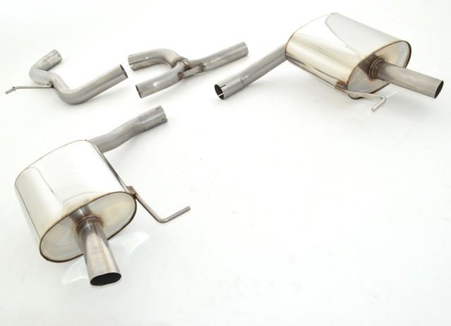 duplex-sportendschalldämpfer skoda octavia rs 5e | rs - 2.0l tdi