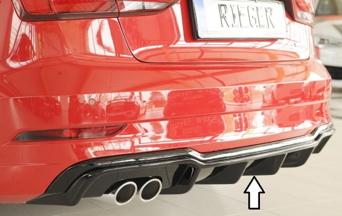 Rieger Heckeinsatz für Audi A3 (8V) - 5883