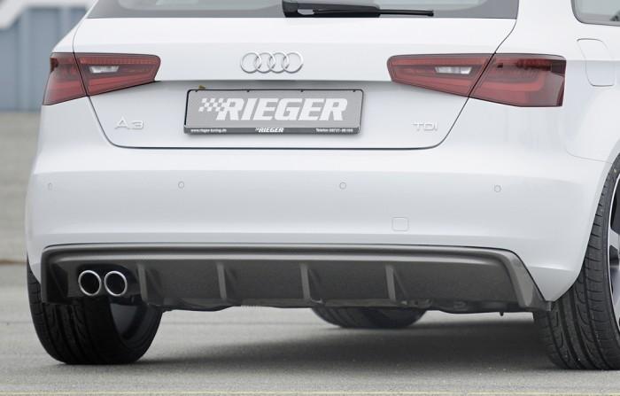 Rieger Heckeinsatz für Audi A3 (8V) - 5434