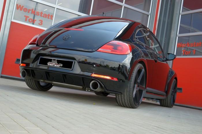 76mm Duplex-Anlage mit Klappensteuerung für VW Beetle 5C inkl. Dune
