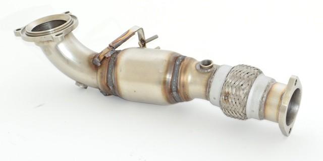 70mm Downpipe mit Sport-Kat.
