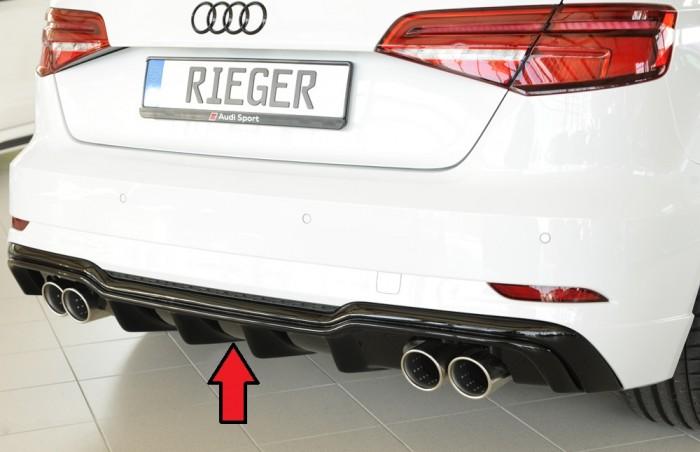 Rieger Heckeinsatz für Audi A3 (8V) - 5889