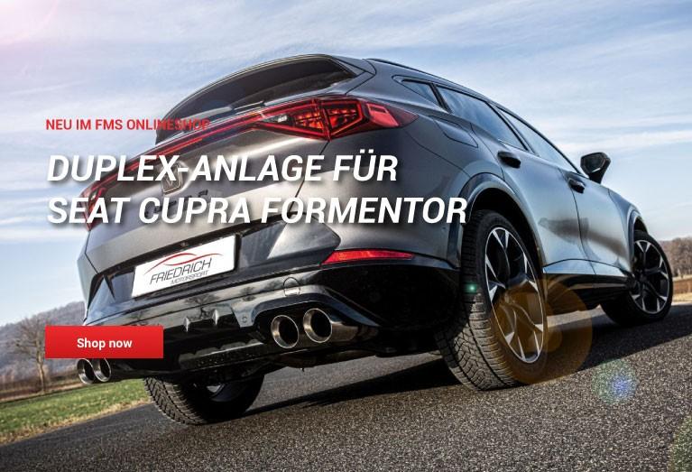Sportauspuff für Cupar Formentor Friedrich Motorsport