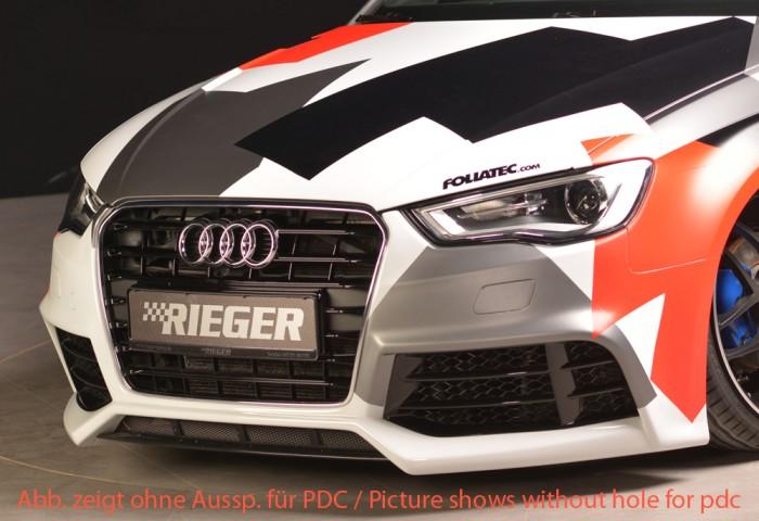 Rieger Spoilerstoßstange für Audi A3 (8V) - 7433