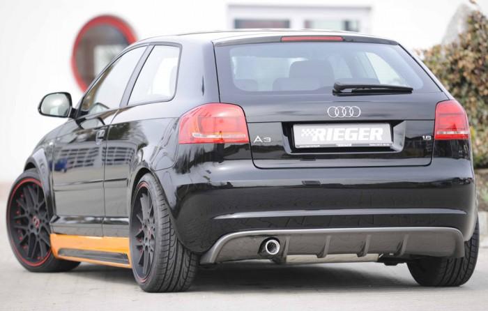 Rieger Heckeinsatz für Audi A3 (8P) - 4428