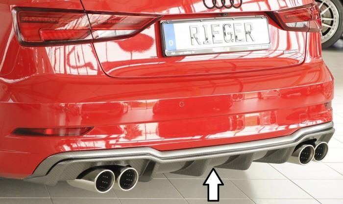 Rieger Heckeinsatz für Audi A3 (8V) - 4742