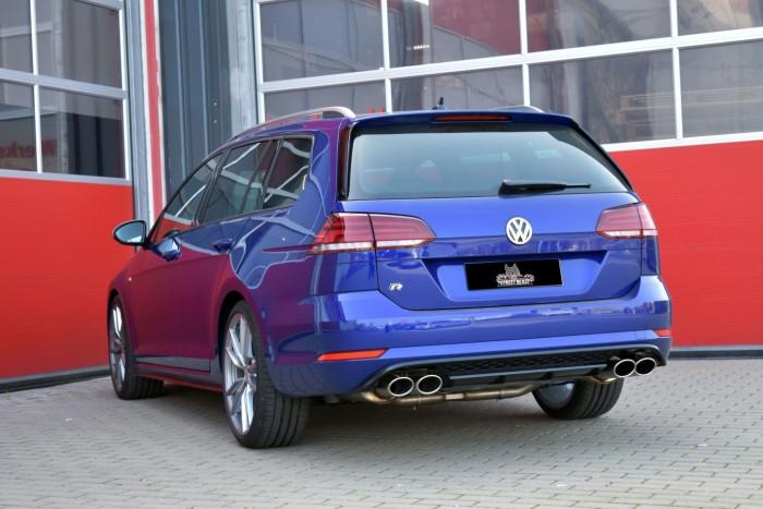 76mm Duplex-Anlage mit Klappensteuerung für VW Golf VII Variant