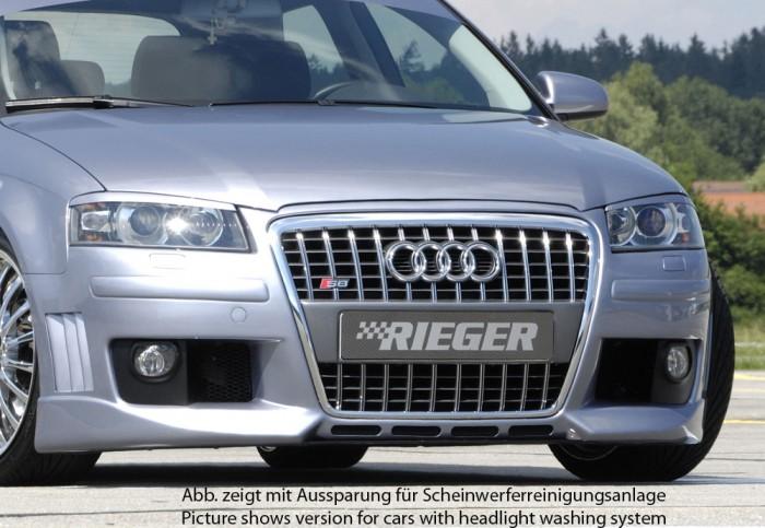 Rieger Spoilerstoßstange R-Frame für Audi A3 (8P) - 7488