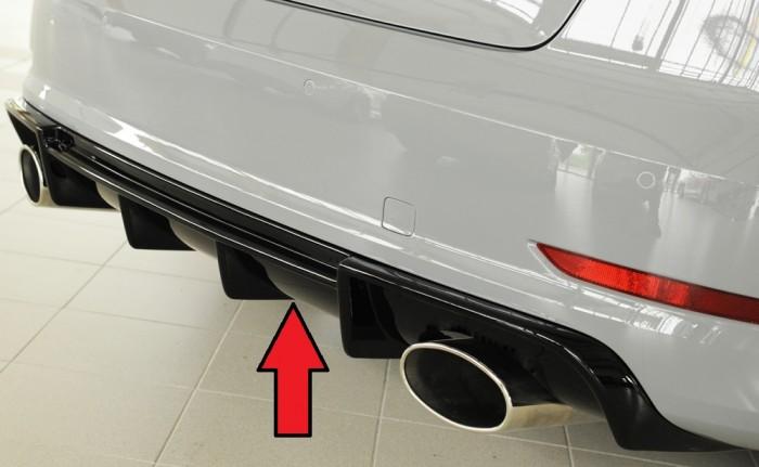 Rieger Heckeinsatz für Audi A3 (8V) - 5939
