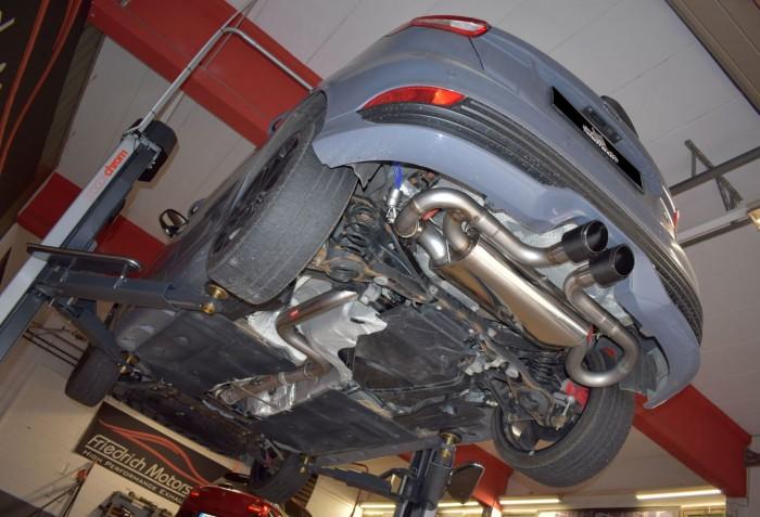 76mm Duplex-Anlage mit Klappensteuerung für Ford Focus MK3 (DYB) ST 5-Türer