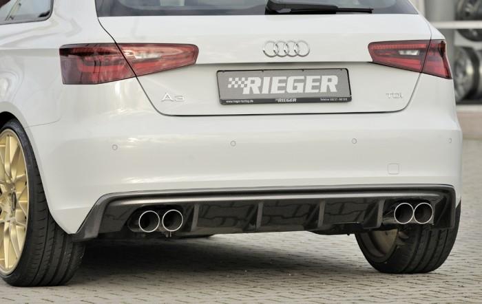 Rieger Heckeinsatz für Audi A3 (8V) - 5432