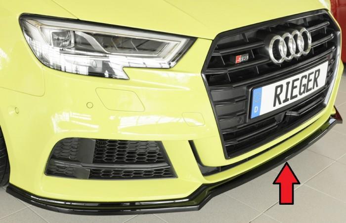 Rieger Spoilerschwert für Audi A3 (8V) - 5913