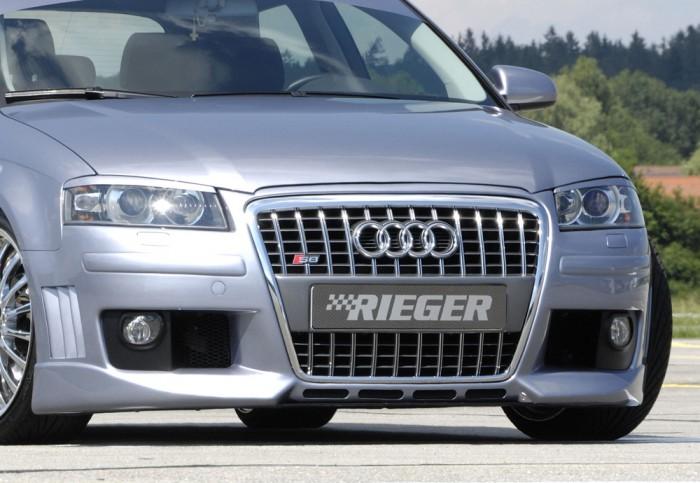 Rieger Spoilerstoßstange R-Frame für Audi A3 (8P) - 7487