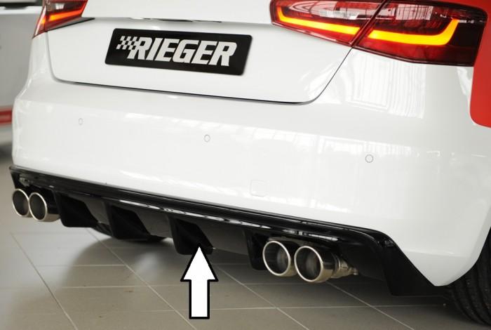 Rieger Heckeinsatz (GBL56787) für Audi A3 (8V) - 6095