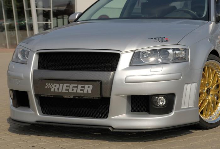 Rieger Spoilerstoßstange für Audi A3 (8P) - 7506