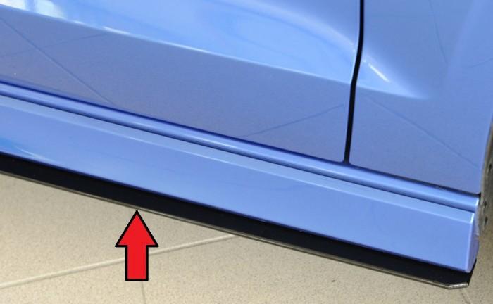 Rieger Seitenschwelleransatz für Audi A3 (8V) - 7385
