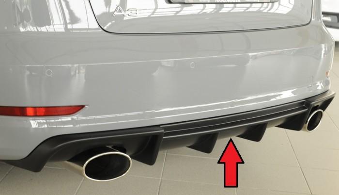Rieger Heckeinsatz für Audi A3 (8V) - 7369