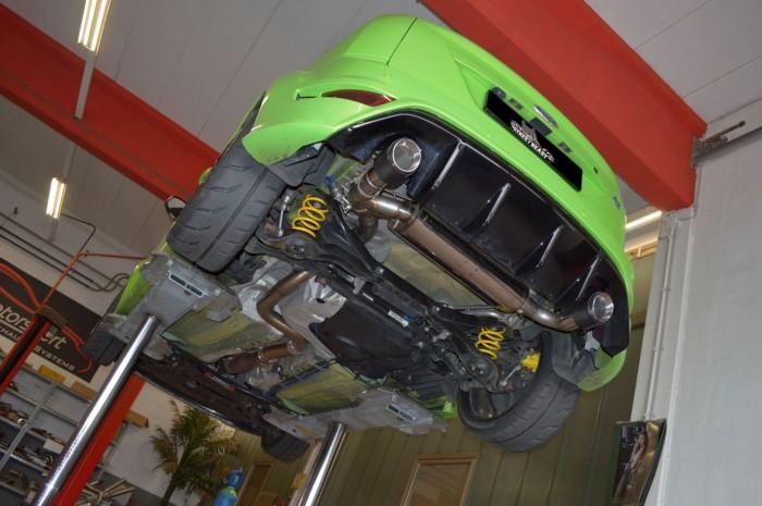 76mm Duplex-Anlage mit Klappensteuerung für Ford Focus MK2 (DA3-RS) RS