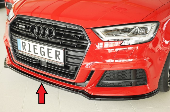 Rieger Spoilerschwert für Audi A3 (8V) - 5931