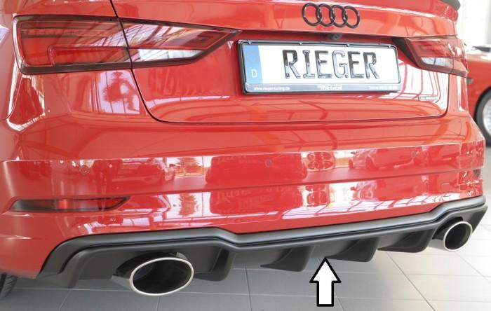 Rieger Heckeinsatz für Audi A3 (8V) - 7329