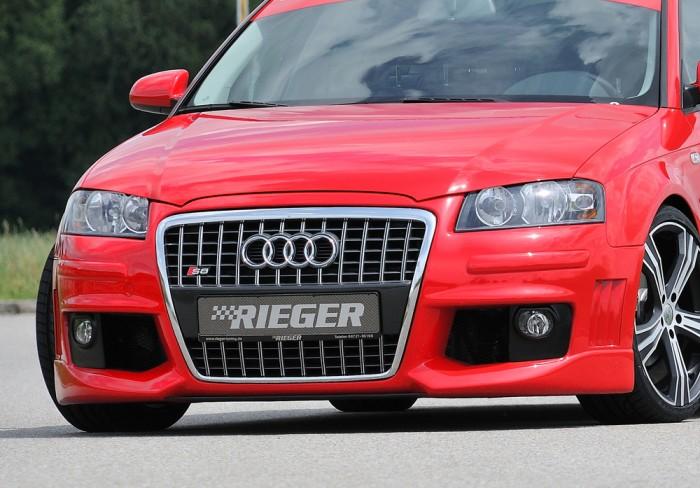 Rieger Spoilerstoßstange R-Frame für Audi A3 (8P) - 7492