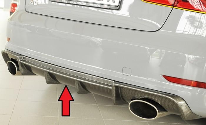Rieger Heckeinsatz für Audi A3 (8V) - 4925