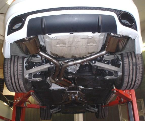Friedrich Motorsport 70mm Duplexanlage mit Klappensteuerung