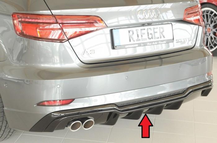 Rieger Heckeinsatz für Audi A3 (8V) - 5893