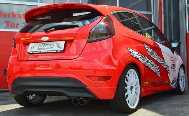 Friedrich Motorsport Auspuff Sportauspuff für Ford Fiesta JA8 Facelift