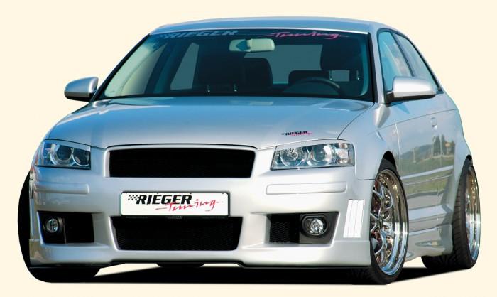 Rieger Spoilerstoßstange für Audi A3 (8P) - 7522