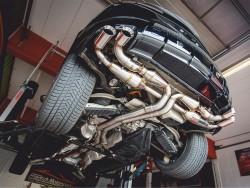 Duplex-Anlage mit Klappensteuerung für Lamborghini Urus