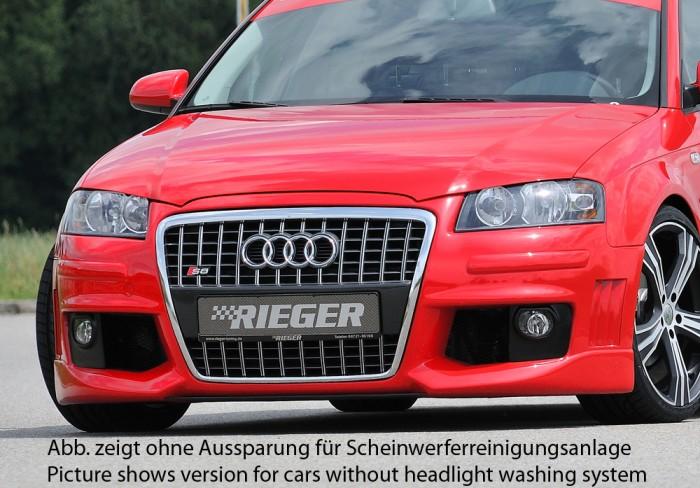 Rieger Spoilerstoßstange R-Frame für Audi A3 (8P) - 7489
