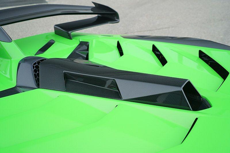 Lufteinlass Dachhutze (nicht für Roadster) Lamborghini Aventador SVJ