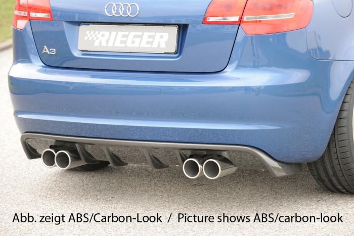 Rieger Heckeinsatz für Audi A3 (8P) - 7467